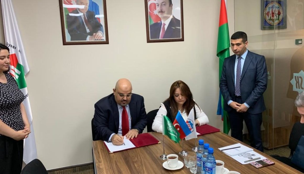 Signing MOU with ASK